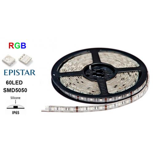 Светодиодная лента LEDSTAR 14.4W SMD5050 RGB 60LED IP65