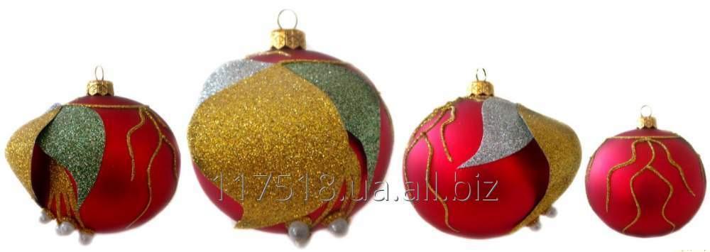 Игрушка елочная Decorated ornaments К-105