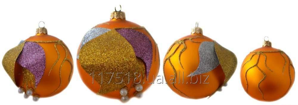 Игрушка елочная Decorated ornaments К-105-1