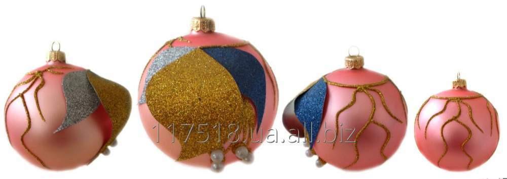 Игрушка елочная Decorated ornaments К-105-2