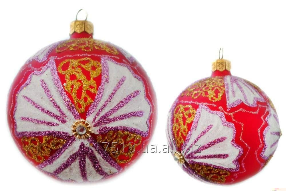 Игрушка елочная Decorated ornaments К-111-1