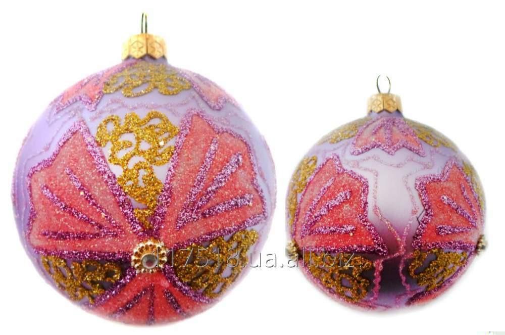 Игрушка елочная Decorated ornaments К-111-3