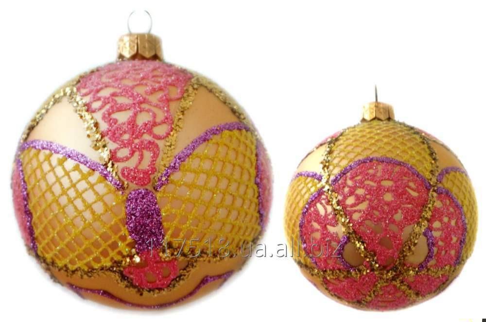 Игрушка елочная Decorated ornaments К-112-1