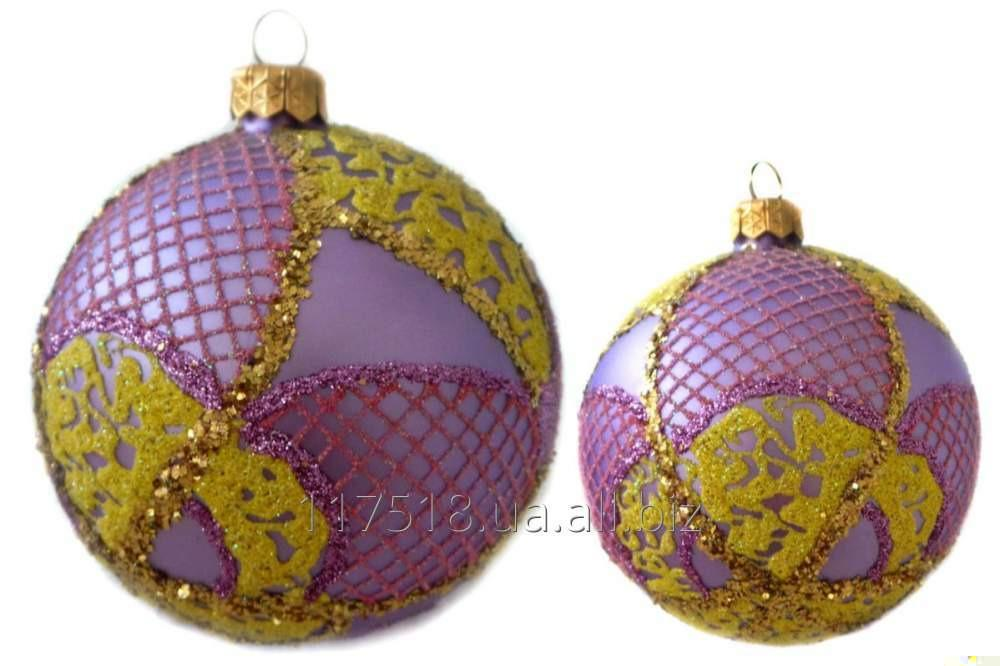 Игрушка елочная Decorated ornaments К-112-2
