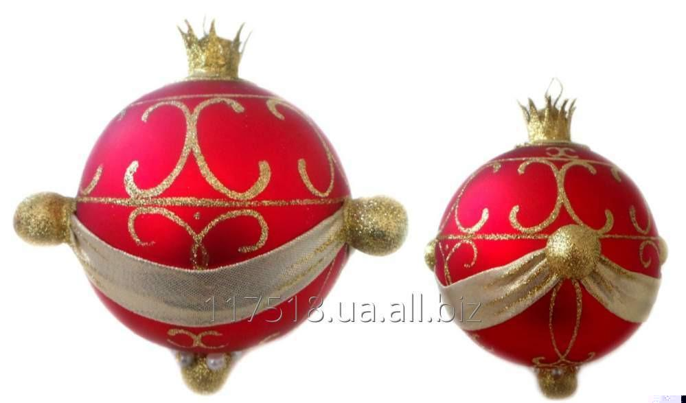 Игрушка елочная Decorated ornaments К-161
