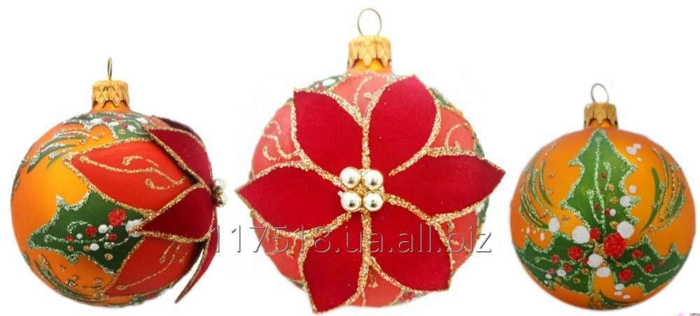 Игрушка елочная Decorated ornaments К-250