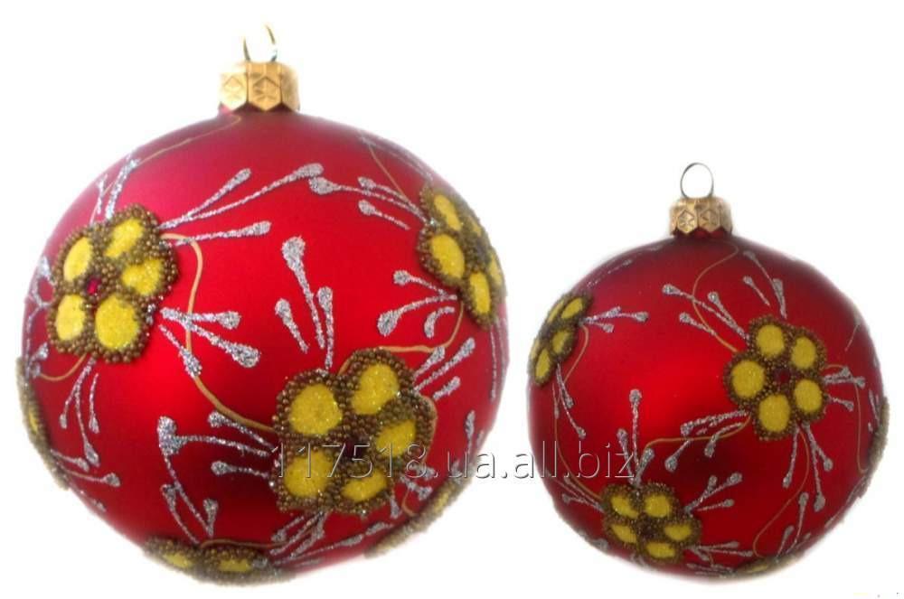 Игрушка елочная Decorated ornaments К-200-3