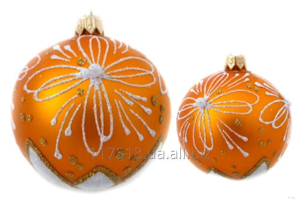Игрушка елочная Decorated ornaments К-208-1