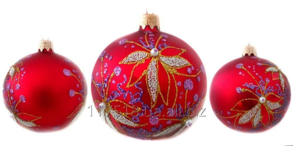 Игрушка елочная Decorated ornaments К-252