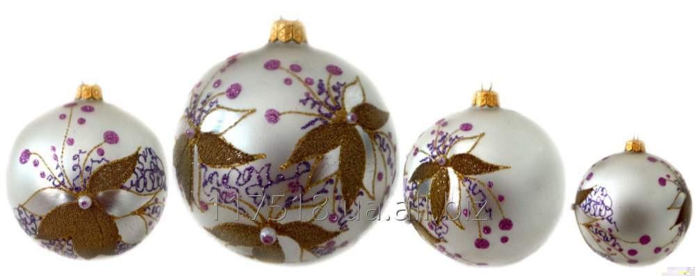 Игрушка елочная Decorated ornaments К-252-1