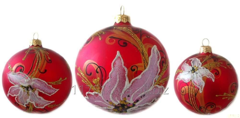 Игрушка елочная Decorated ornaments К-253