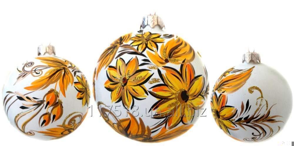 4Игрушка елочная Decorated ornaments К-304-4