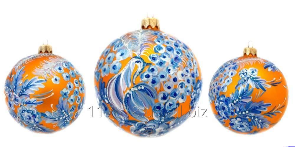 Игрушка елочная Decorated ornaments К-357