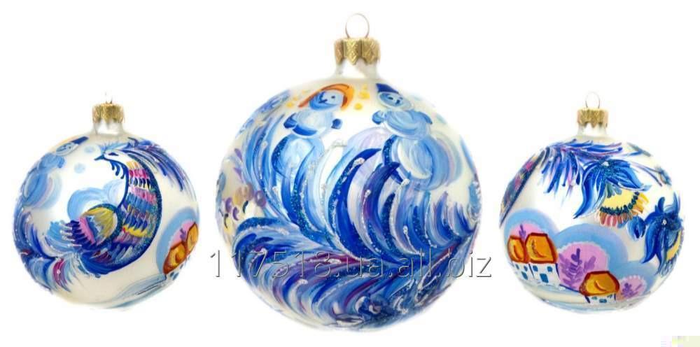Игрушка елочная Decorated ornaments К-358