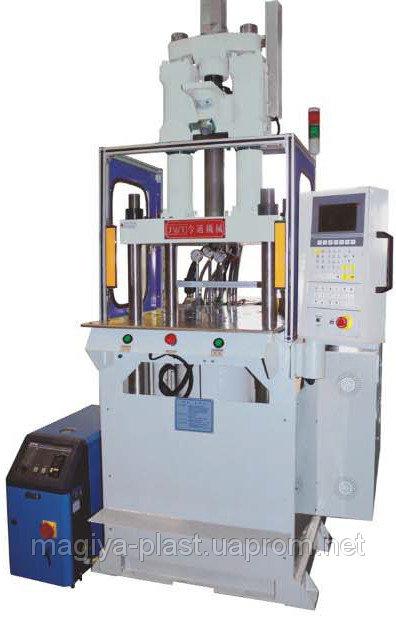 Купить Вертикальная инжекционно-литьевая машина (вертикальный термопласт-автомат) JT-550