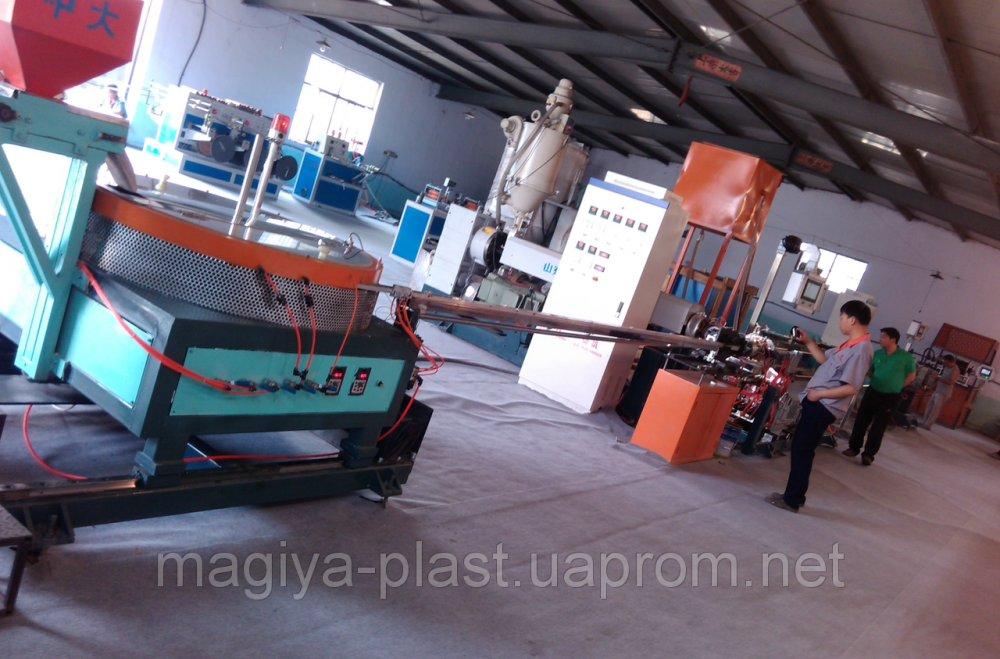 Купить Экструзионная линия LSG-75/33 по производству лент капельного орошения с плоскими капельниками из ПЭ