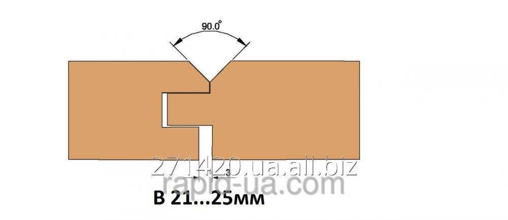 Купить Фреза для изготовления доски пола В=21…25 160х40х В=21… 25х4+4 061.22.00.00.000