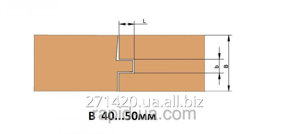 Купить Фреза для изготовления доски пола В=40…50 160х40хВ=40…50 х 4+4 061.26.00.00.000