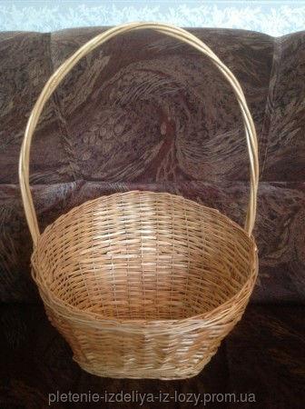 Купить Плетеная корзина из лозы для подарков
