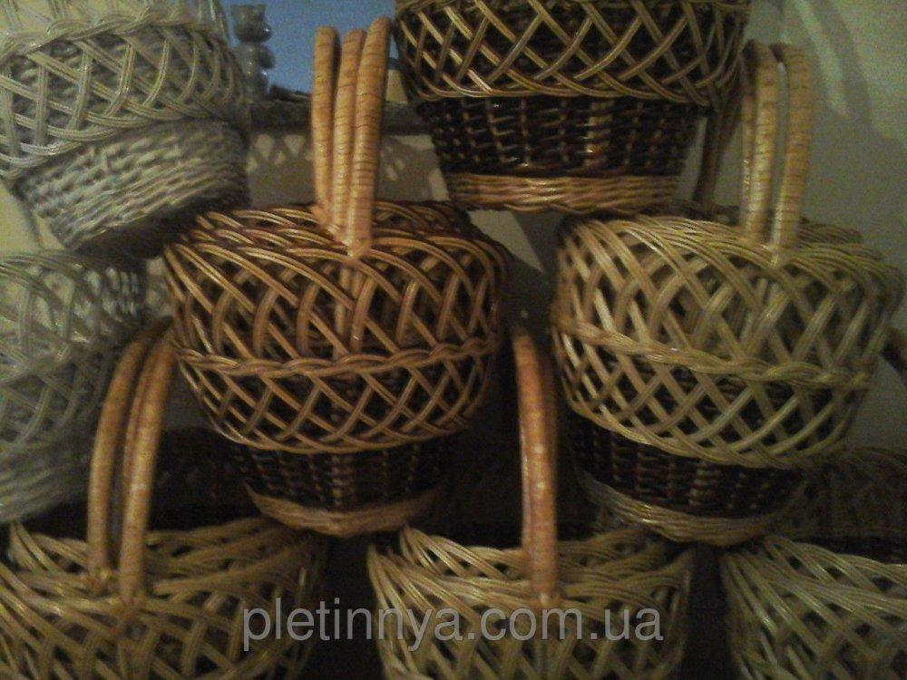 Купить Рыбак ажурный из лозы 4шт