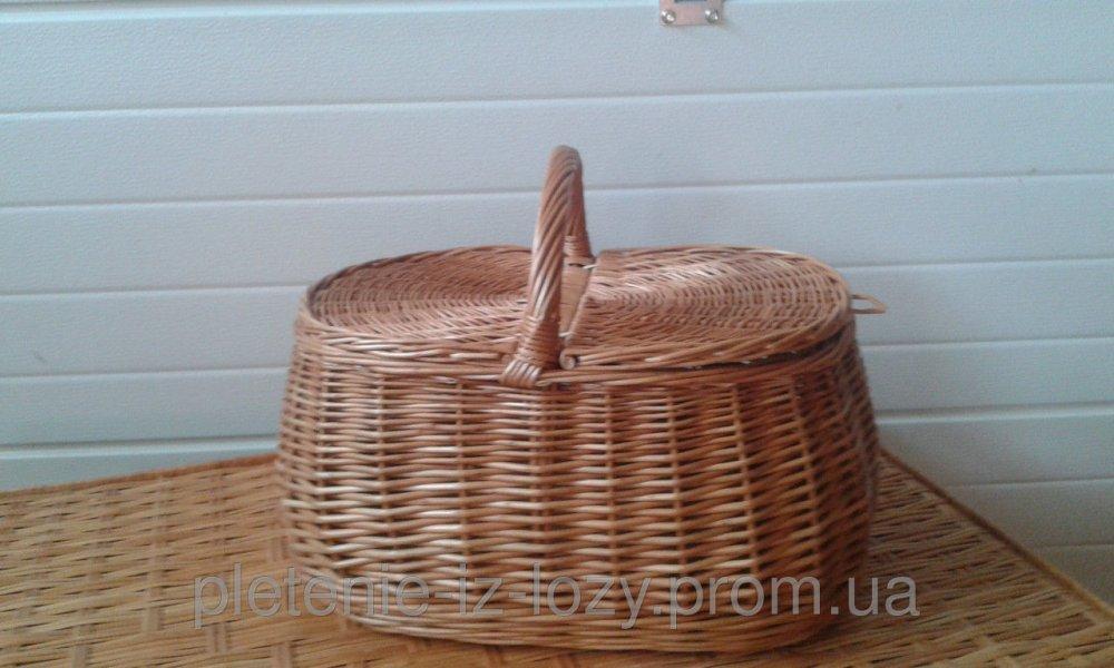 Купить Корзина для пикника из лозы