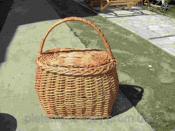 Купить Корзина для пикника с крышкой