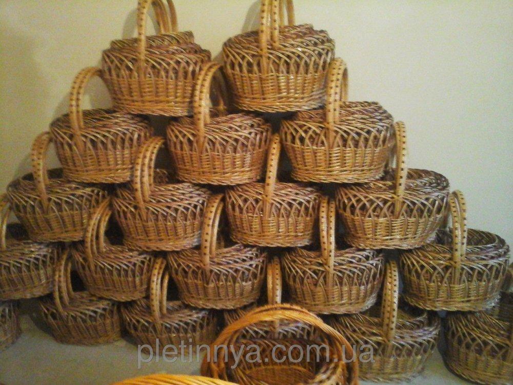 Купить Наборы пасхальных корзин из лозы