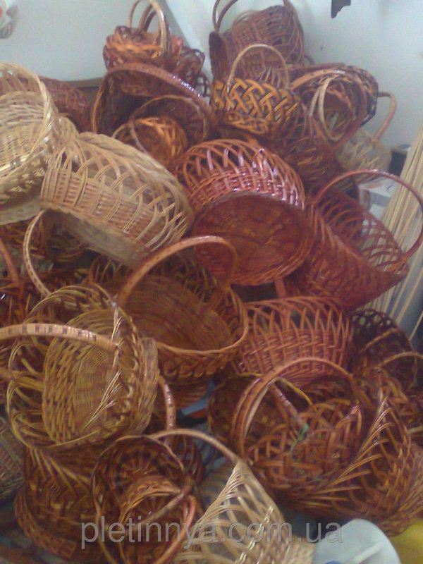 Купить Корзины плетеные из лозы