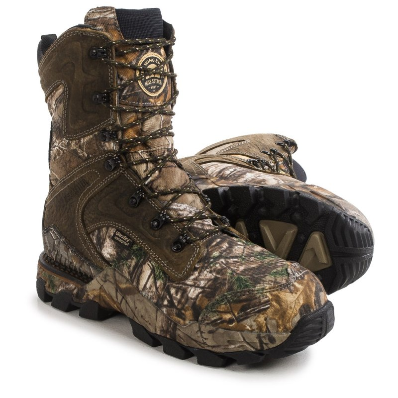 Ботинки для охоты утепленные Irish Setter Deer Tracker UltraDry PrimaLoft® Hunting Boots