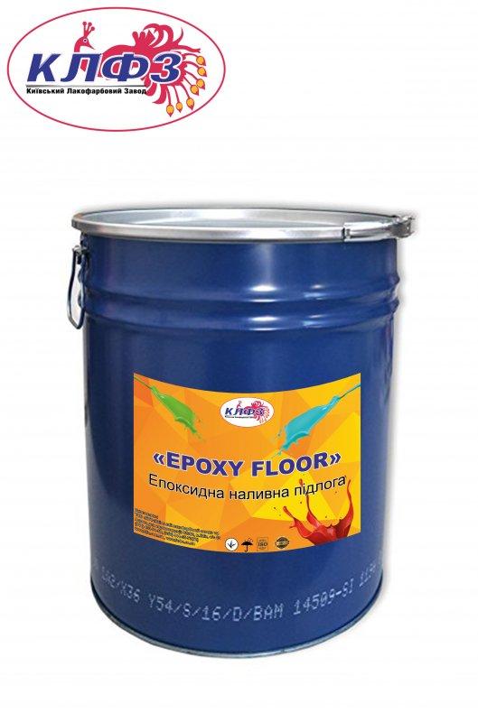 Купить Эпоксидный наливной пол EPOXY FLOOR (краска по бетону и металлу)