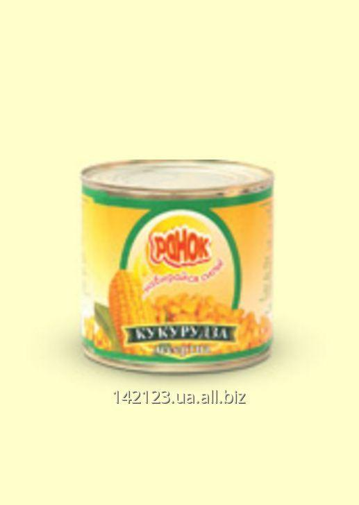 Кукуруза десертная ТМ Ранок