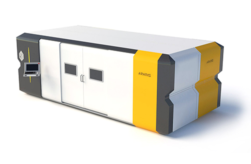 Buy The machine with a fiber-optical laser source of AFL-4000