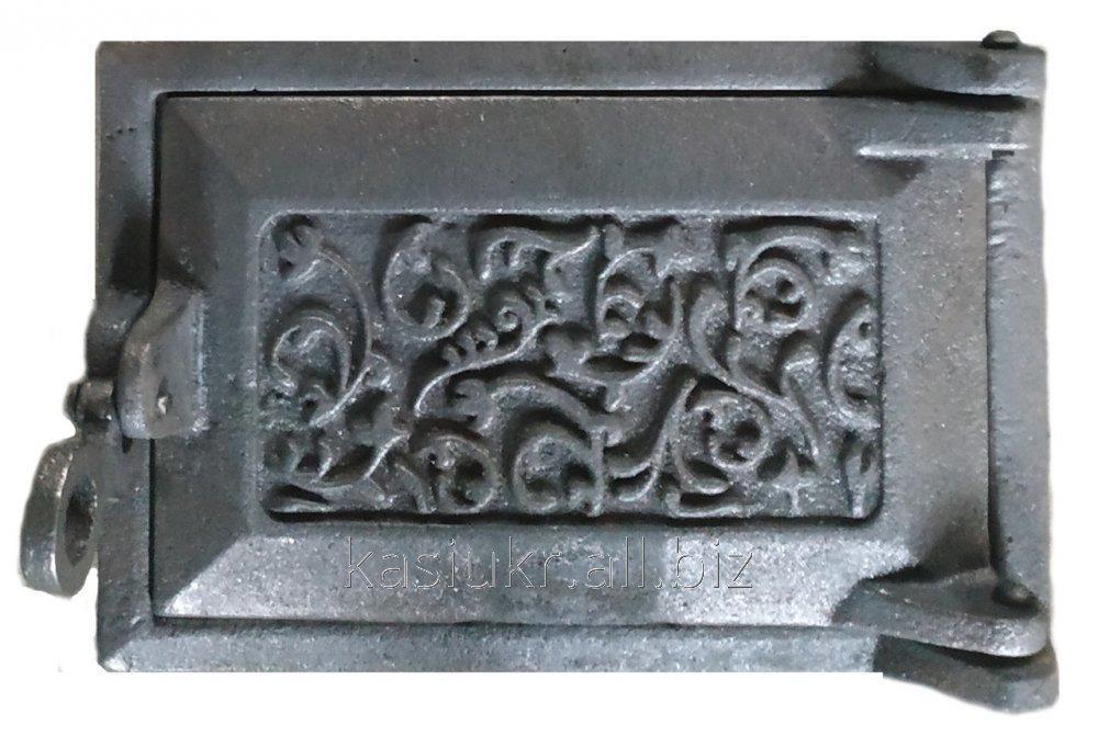 Дверка поддувальная (зольная) на защелке ДПЗ-1 (240 х 165 мм.)