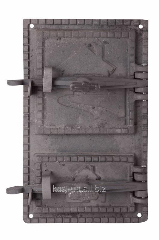 Дверка спаренная на закрутке ДС-1 (410 х 250 мм.)