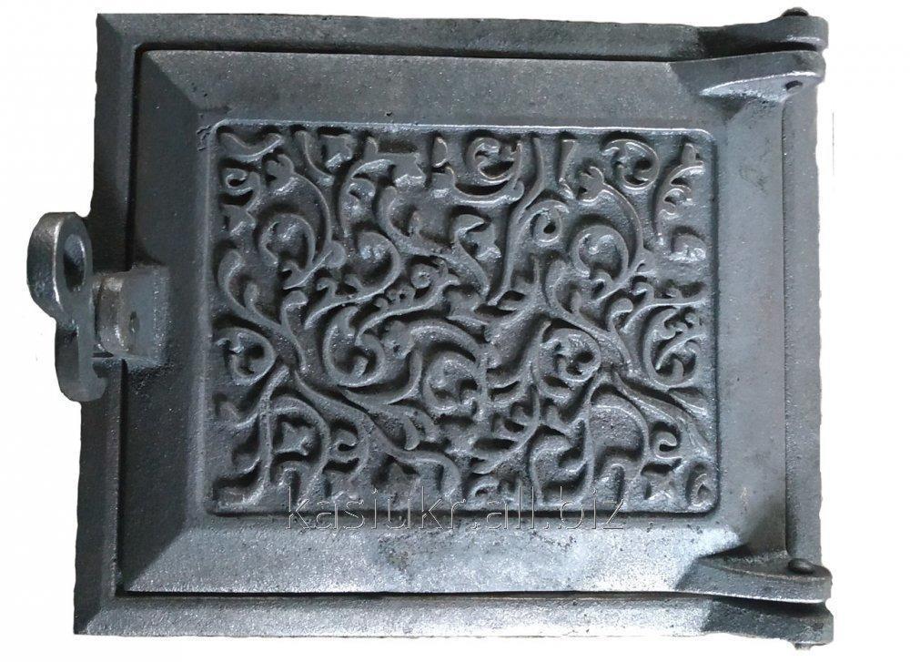 Дверка топочная на защелке ДТЗ (270 х 230 мм.)