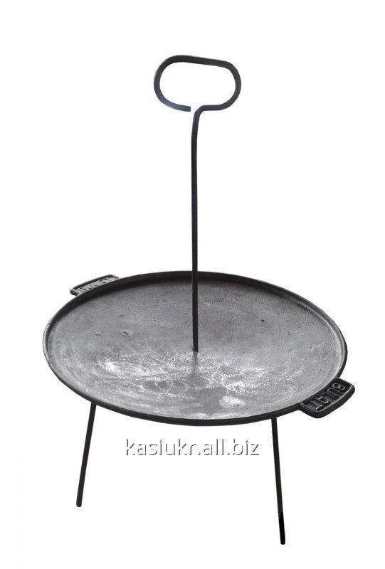 Сковорода (тарелка) дисковая чугунная