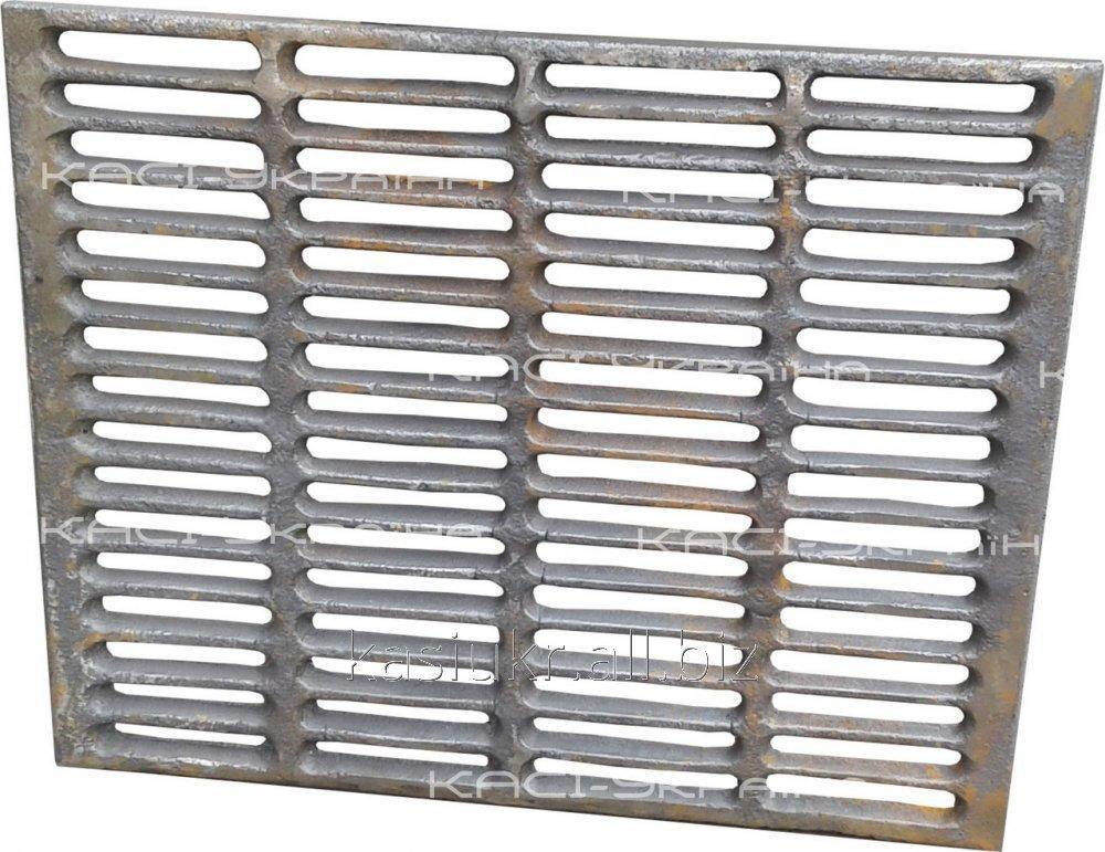 Решетка чугунная гриль-барбекю 340 х 425 мм.