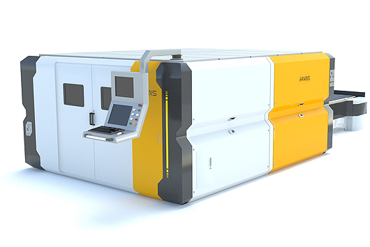 Buy Machine of laser cutting of the sheet materials AFX-1500