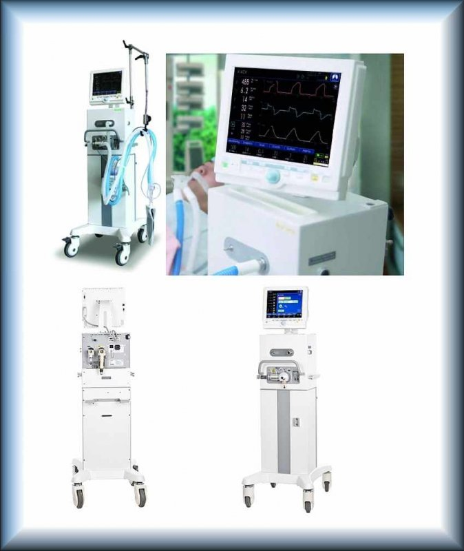 Buy The device for artificial ventilation of easy MEKICS MV2000 SU-M2
