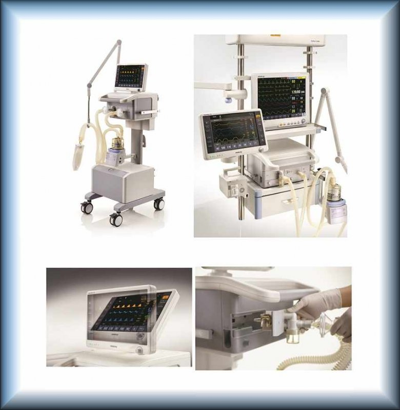 Buy The device for artificial ventilation of easy MINDRAY SynoVent E5