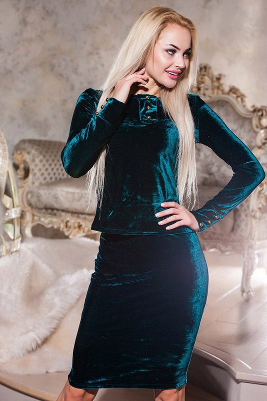 """Купить Стильный молодежный костюм """" Бархат """" Dress Code"""