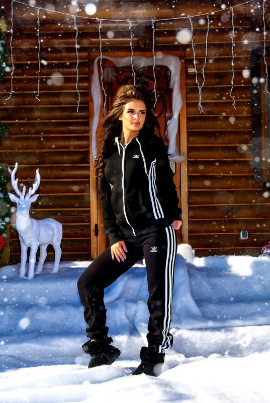 """Купить Женский утепленный спортивный костюм """" Adidas """" Dress Code"""