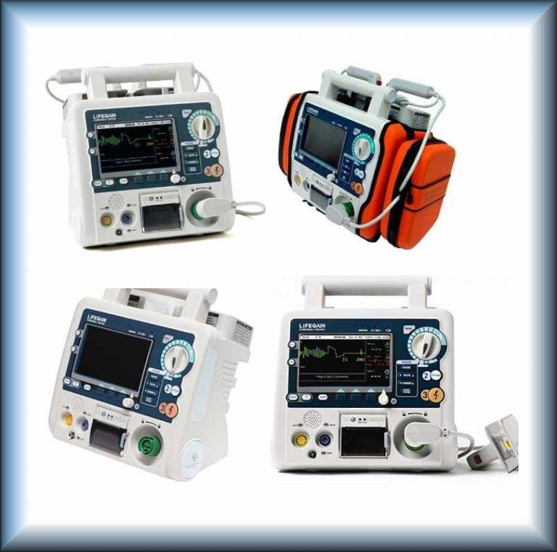Дефибриллятор-монитор CU Medical System LIFEGAIN CU-HD1