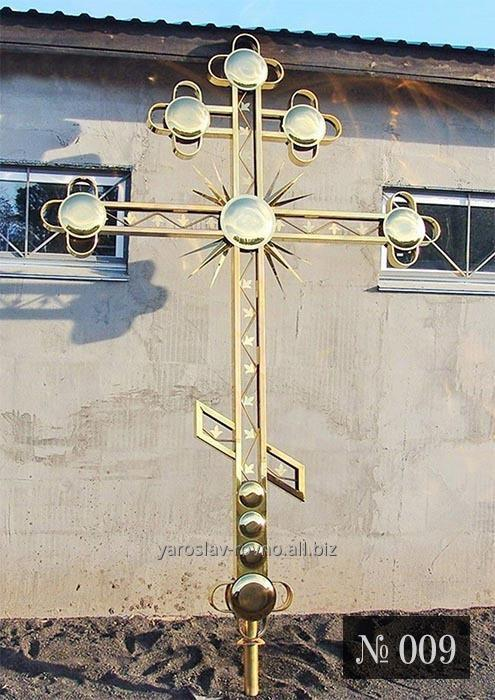 Купить Крест накупольный № 009