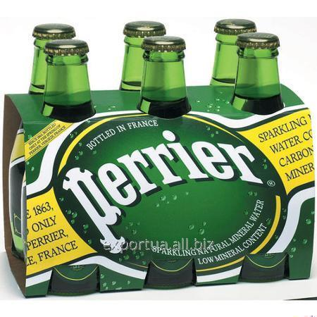 Acheter Eau minérale PERRIER (Perrier) verre 0,33 l, gaz (24 pcs.).
