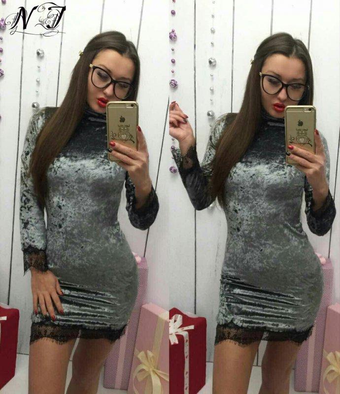 Купить Стильное молодежное платье мини