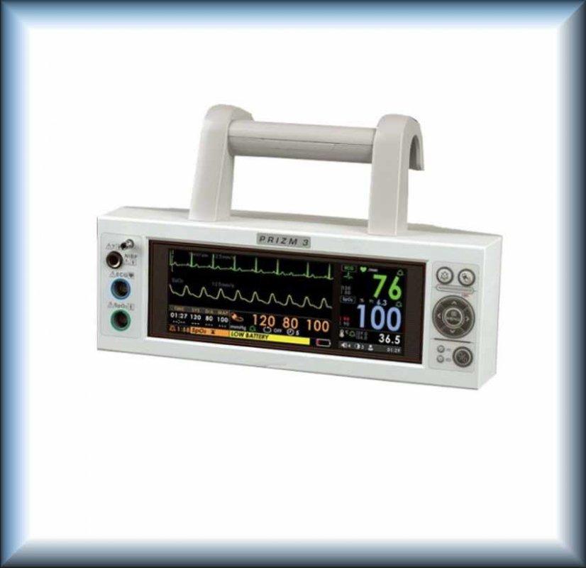 Ультракомпактный транспортный монитор пациента HEACO Prizm3