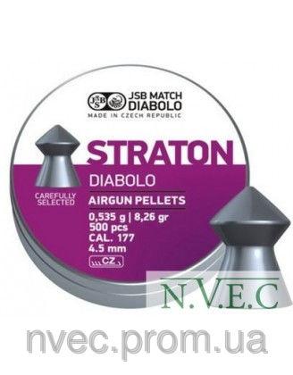 Пули пневматические JSB Diabolo Straton 4.50мм, 0.535г (500шт)