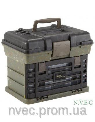 Коробка Plano Bone Collector Shooter, для патронов, зеленый/черный (137220 )