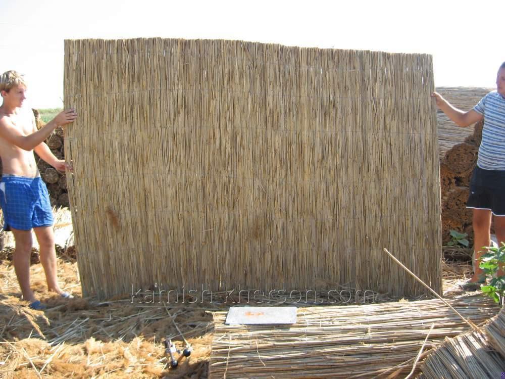 Камышовая рогожка 1.6х6 м